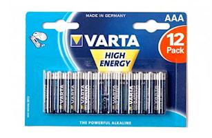 Batteri AAA/LR03 High Energy