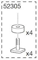 Monteringspåse XTender 739