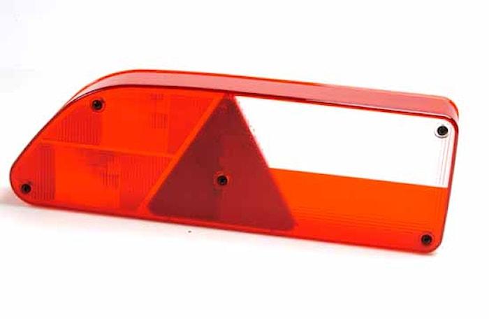 Lyktglas hö f bakl 7 907/HTS