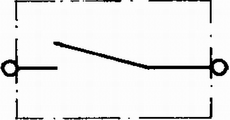 Signal-/startströmställare 20A