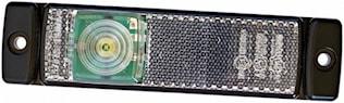 Pos.lykta 12V LED med reflex