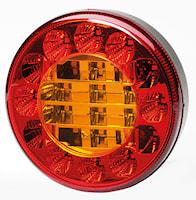 Bak-/broms-/blinkl 122mm Ø LED