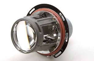 Reflektor m linsBMW v/h