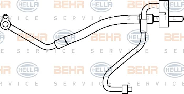 Rörsystem AC Komp-kond