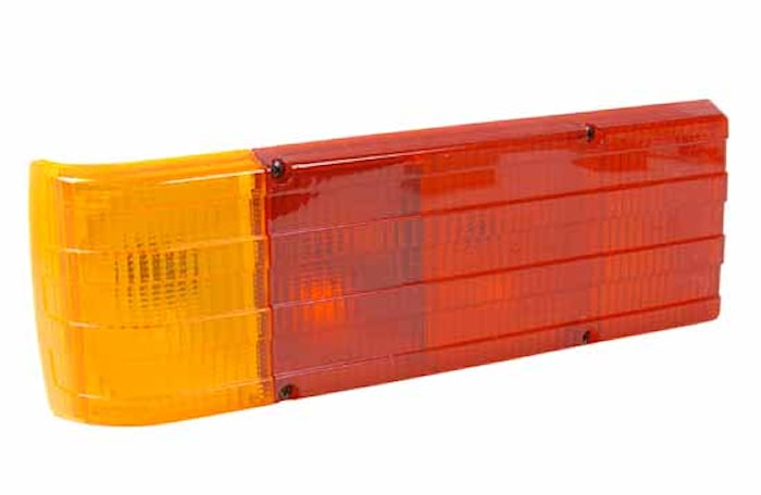 Baklykta 12V 383x130mm