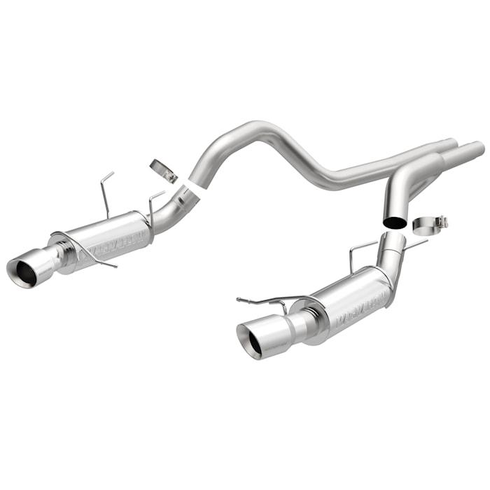 Avgassystem dubbelt - Ford