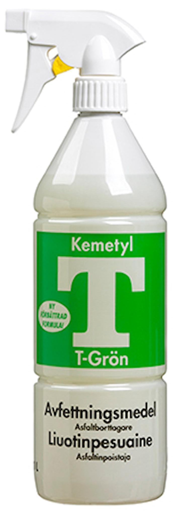 Avfettningsmedel T-Grön Spray