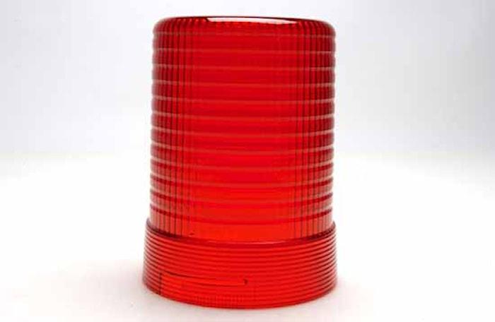 Lykthuv röd f varn.fyr KL600