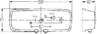Innerbelysn 204x77mm m strömbr
