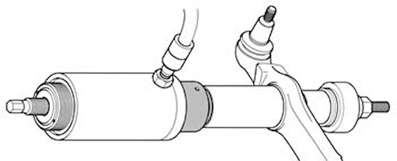 Hållaradapter för hydr. cylind