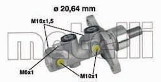 Huvudcylinder Broms 20.64mm