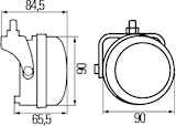 Varselljussats LED 9-33V