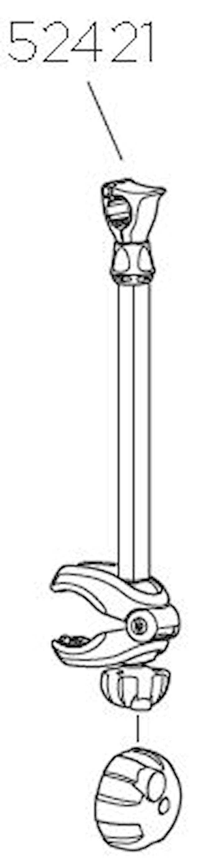 Hållararm 482 mm
