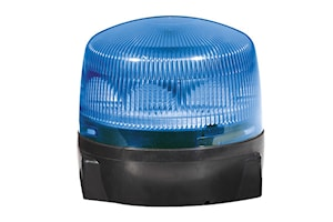 Blixtfyr Rota LED F blå