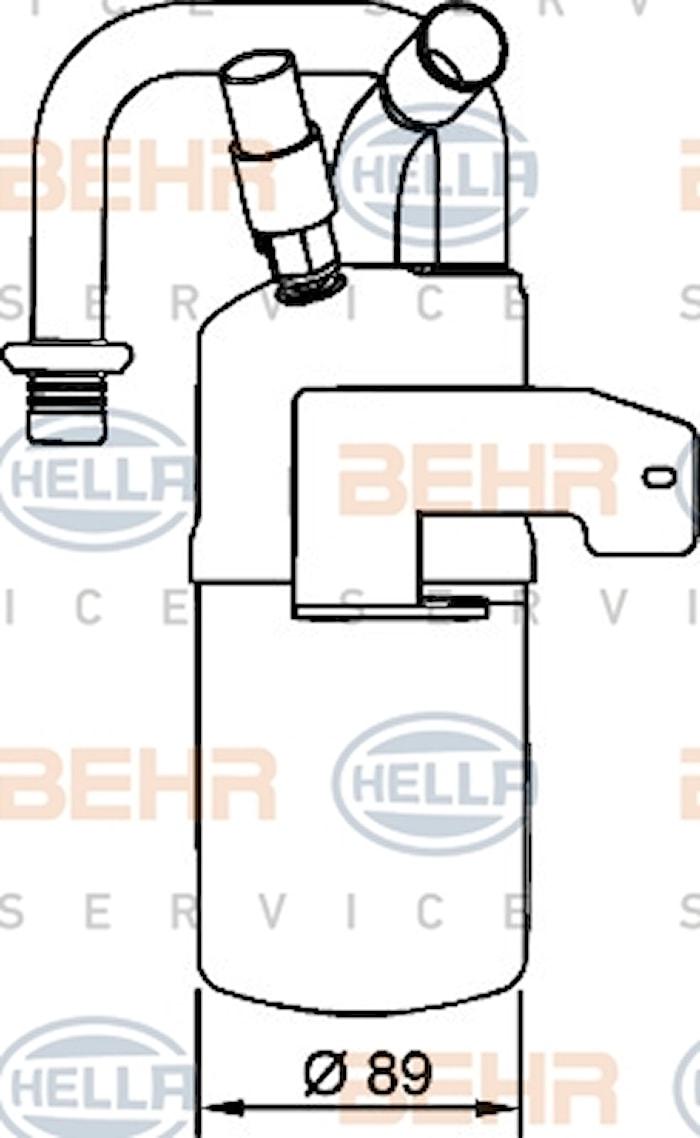 Torkfilter AC Ford