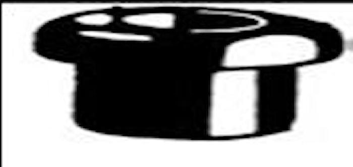 Kabelgenomföring 6x14 mm