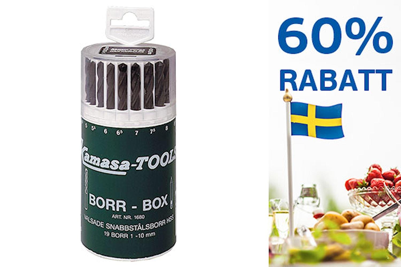 Borrbox 1-10 mm
