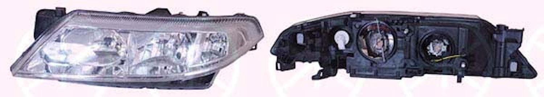 Huvudstrålkastare vänster