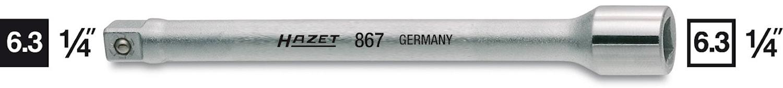 """Förlängare 1/4""""  100 mm"""