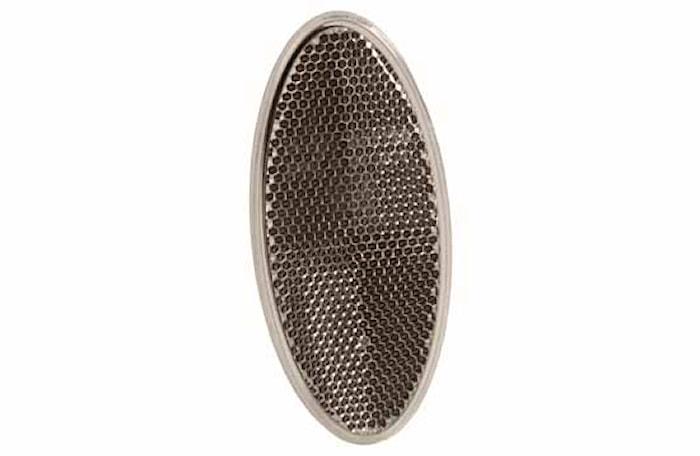 Reflex vit 100x45mm oval lim
