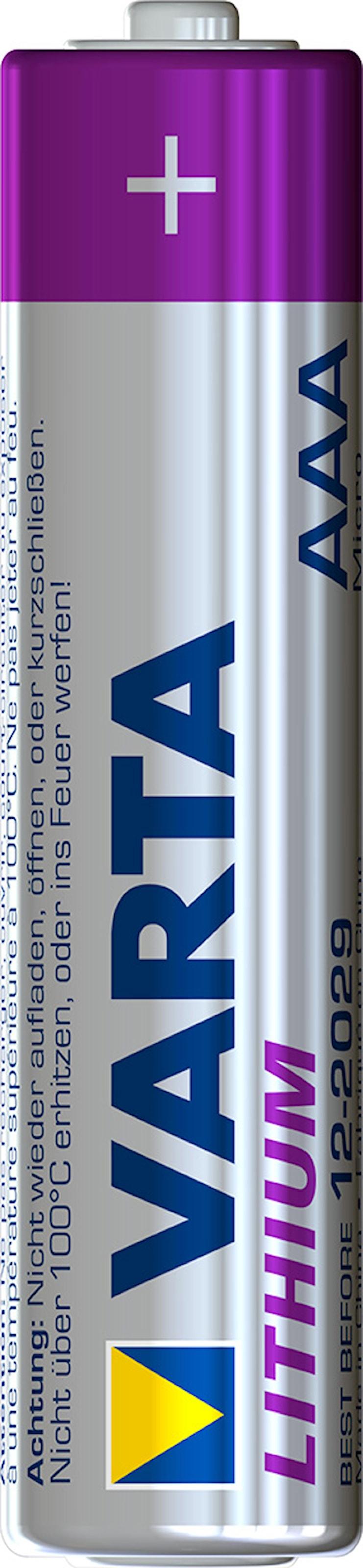 Batteri AAA Lithium