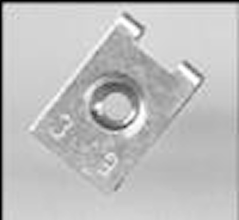Plåtmutter 3,9 mm
