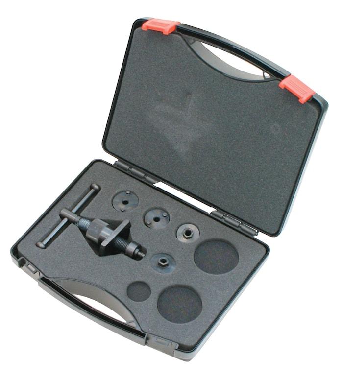 Tryck-/vridverktyg inkl. väska