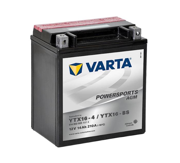 Batteri 14Ah MC YTX AGM