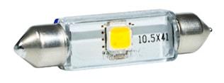 LED-lampa 12V Festoon 10,5x43