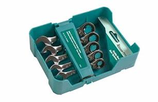 Blocknyckelsats spärr 10-16 mm