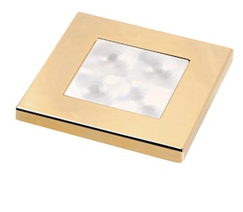 Flushbel 24V LED vit 60x60mm