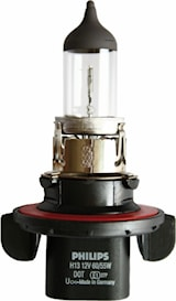 Lampa/styck/55+60w klar (H13)