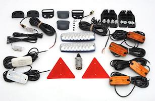 Belysnings-sats LED f. släp