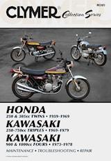Vintage Japanese Street Bikes