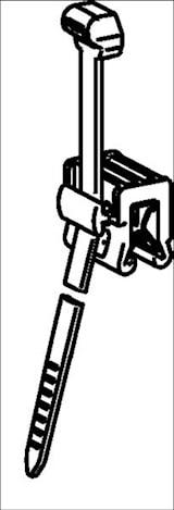 Buntband med kantclips 3-6mm