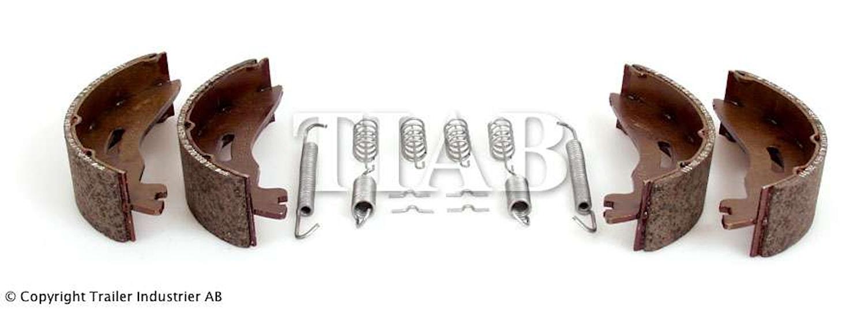 Bromsback sats 4 st bpw 170x40