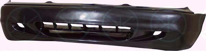 Stötfångare fram, svart sed -9