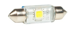 LED-lampa 24V Festoon 10,5x38