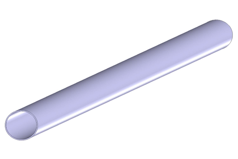 Stålrör 80 mm x 2000 mm