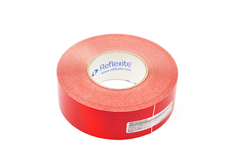 Konturreflex röd 50mm x 50m