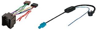 Adapter inkl antennadapter