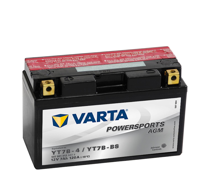 Batteri 7Ah MC YTX AGM