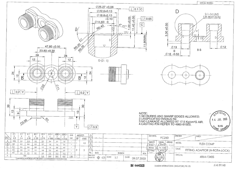 Kompressoranslutning AC