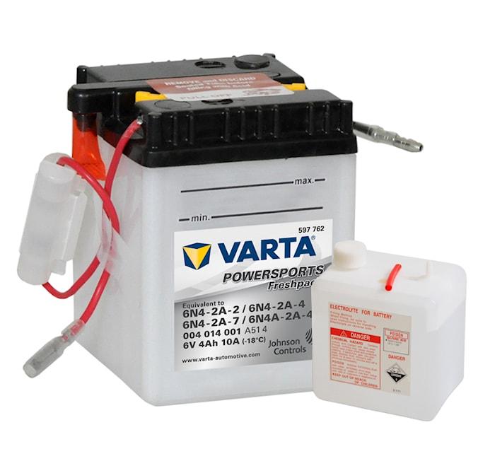 Batteri 4Ah MC Fresh pack 6V