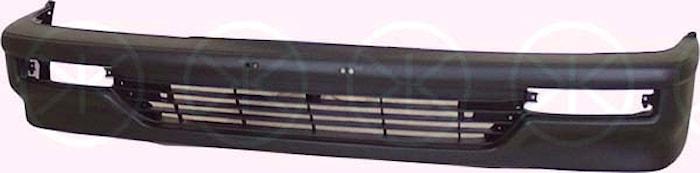Stötfångare fram, svart 90-