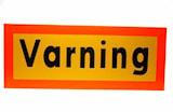 """Reflexskylt """"Varning"""""""