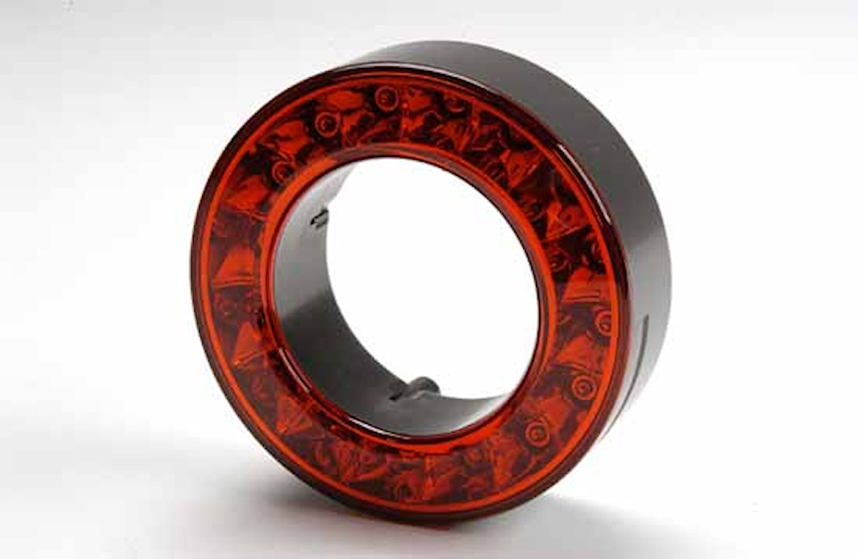 Dekorring röd 112mm