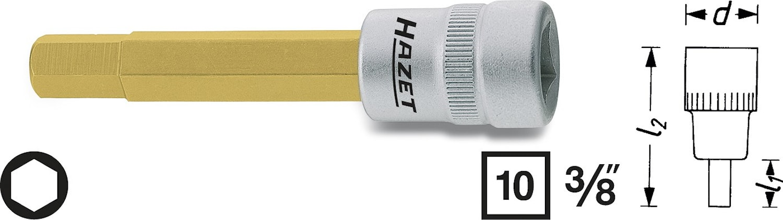 "Hylsa 3/8"" Insex 8 mm"