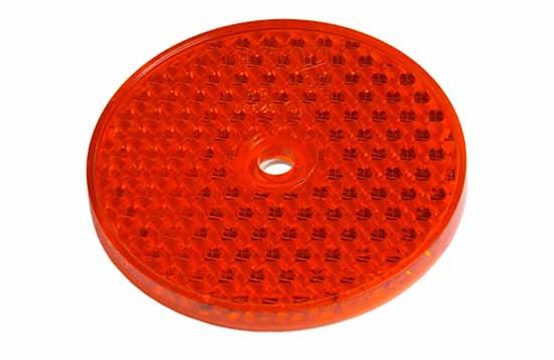 Reflex röd 68mm Ø