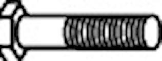 Bult M8 x 30